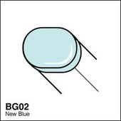 Copic Sketch marker BG02 new blue