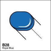 Copic Sketch marker B28 royal blue