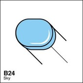 Copic Sketch marker B24 sky