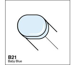 Copic Sketch marker Copic Sketch marker B21 baby blue