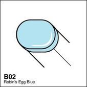 Copic Sketch marker B02 robin's egg blue