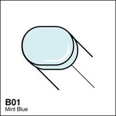 Copic Sketch marker B01 mint blue