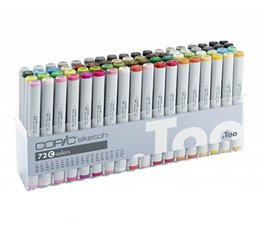 Copic Sketch marker Copic Sketch markerset 72-delig C