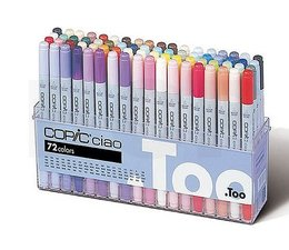 Copic Ciao marker Copic Ciao markerset 72-delig A