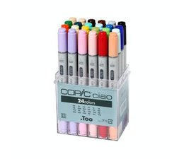 Copic Ciao marker Copic Ciao markerset 24-delig