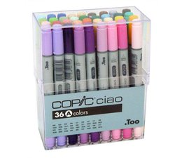 Copic Ciao marker Copic Ciao markerset 36-delig A