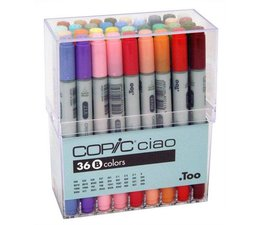 Copic Ciao marker Copic Ciao markerset 36-delig C