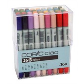 Copic Ciao marker 36-delig E