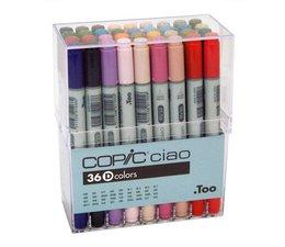 Copic Ciao marker Copic Ciao markerset 36-delig E