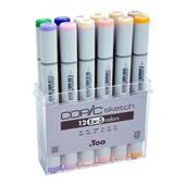 Copic Sketch marker 12-delig EX-3