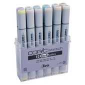 Copic Sketch marker 12-delig EX-4