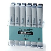 Copic marker original 12-delig cool gray