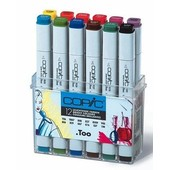 Copic marker original 12-delig bright