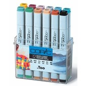Copic marker original 12-delig pastel
