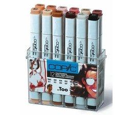 Copic marker original Copic markerset 12-delig skin tone