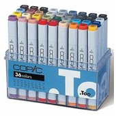 Copic marker original 36-delig basis
