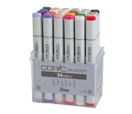 Copic Sketch marker Copic Sketch markerset 24-delig