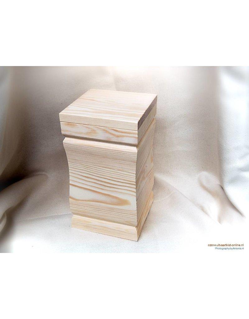 Uitvaartproducten MODERN massief grenen eco-urn