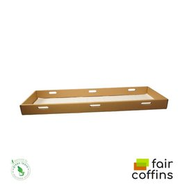 Karton FAIR coffin - eco opbaarplank van karton
