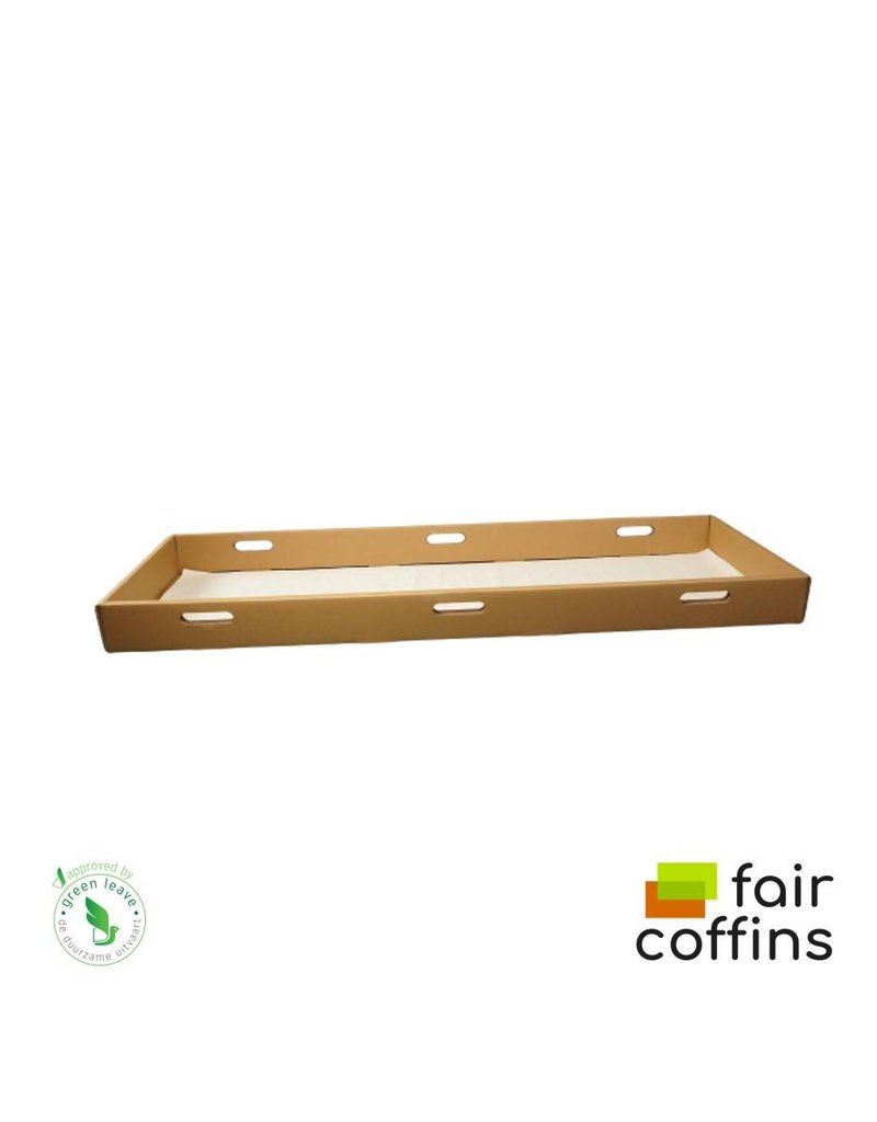 Karton FAIR coffin - kartonnen opbaarplank naturel