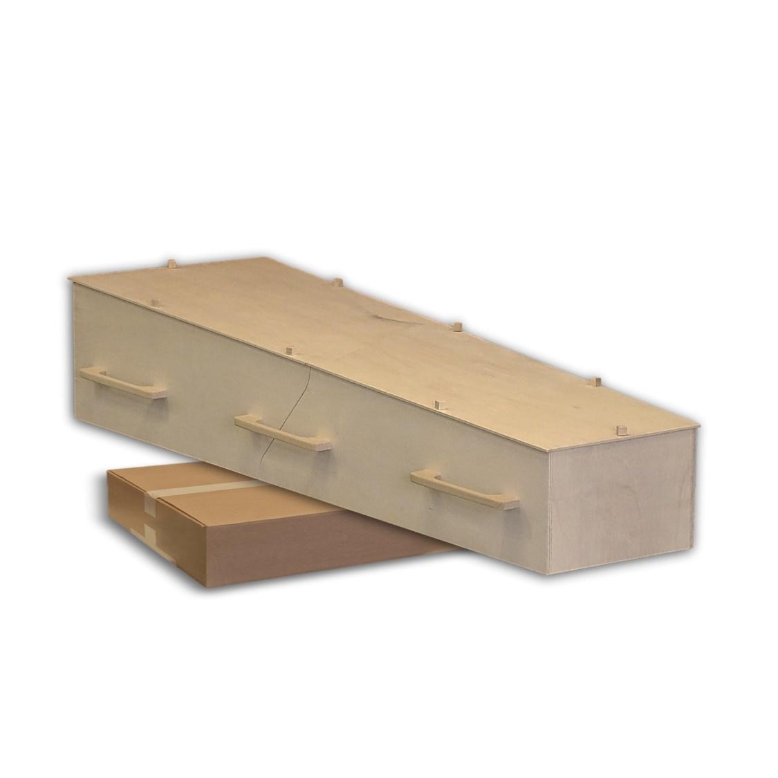 Ikea Stijl Eco Grafkist Bouwpakket Voor Maar 269
