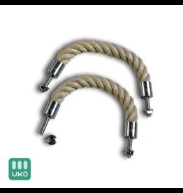 Uitvaartproducten 8x grafkist touw handgrepen voor uitvaartkisten