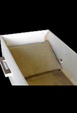 Uitvaartproducten SVEPPA jute set grafkist interieur voor zelfgemaakte grafkist of baarplank