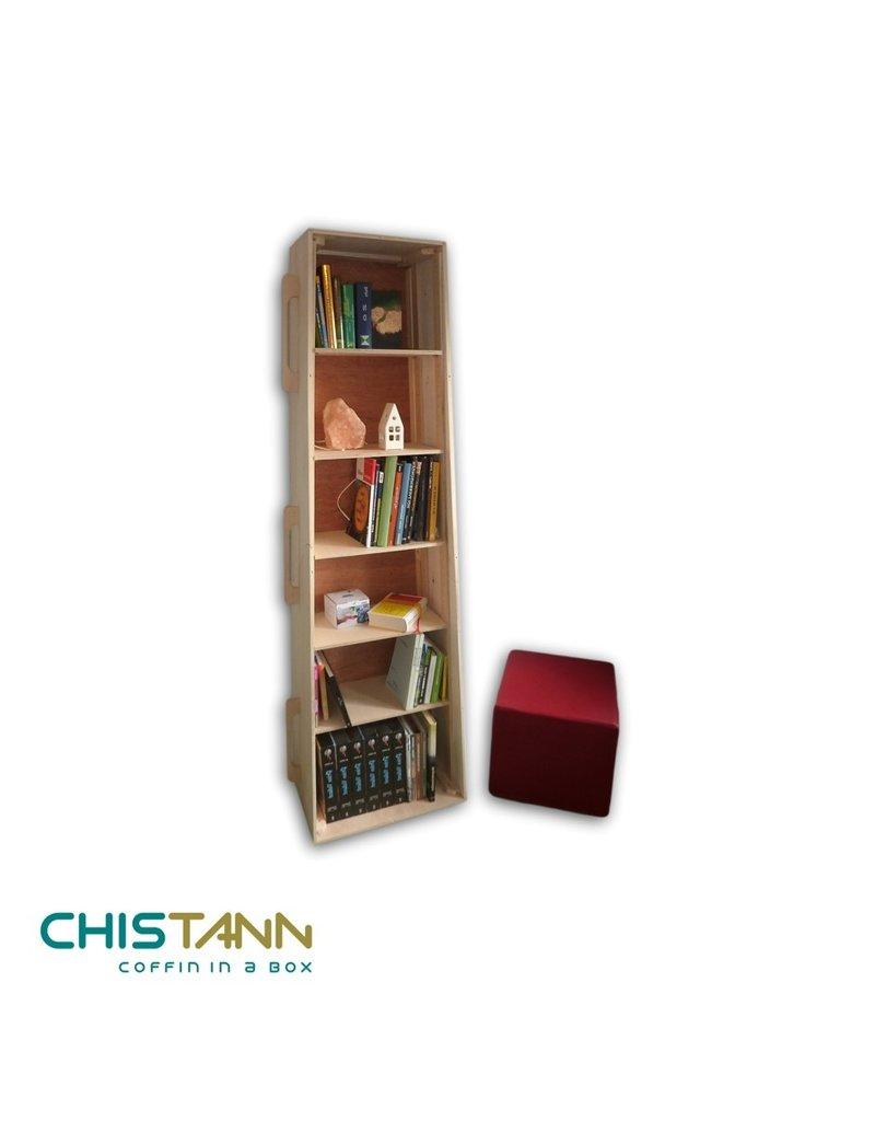 Populier CHISTANN uitbreidingset boekenkastkist
