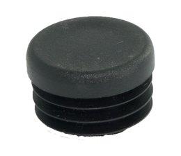 Inslagdop, kunststof zwart