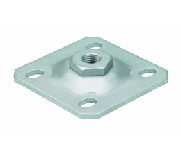 Locinox Wall plate, serving suspension leaf on wall