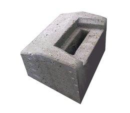 Beton, Aanslagblok