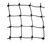 Ballenvangernet, PE knotted 50 x 50 x 3 mm, Black