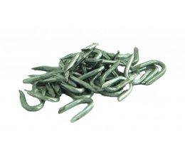 Staples du fil de fer galvanisé