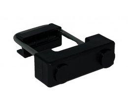 U-Bracket Ø 6mm plastic mounting block