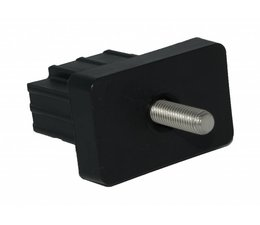 Pole Connector port blinde 50x30