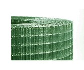 Aviary Mesh Green plasticized