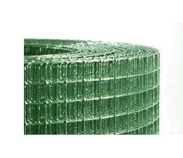 Volière maille vert plastifié