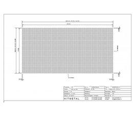 Wire Diameter 3.0, Dimensions 2000 x 1000 mm