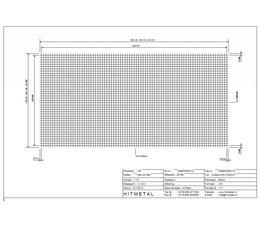 Drahtdurchmesser 3.0, Abmessungen 2500 x 1250 mm