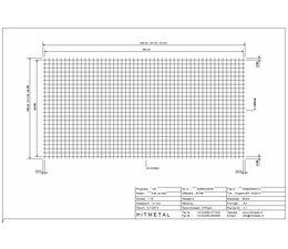Draaddiameter 4.0, Afmeting 2000 x 1000 mm