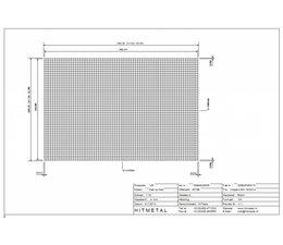 Draaddiameter 4.0, Afmeting 3000 x 2000 mm