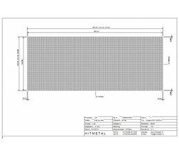Drahtdurchmesser 4.0, Abmessungen 5000 x 2000 mm