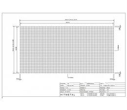 Wire Diameter 3.0, Dimensions 3000 x 1500 mm