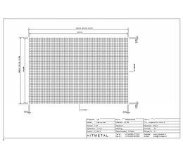 Drahtdurchmesser 3.0, Abmessungen 3000 x 2000 mm