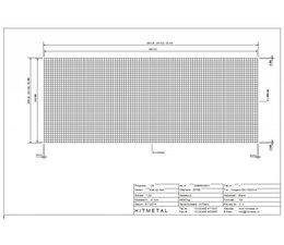 Wire Diameter 3.0, Dimensions 5000 x 2000 mm