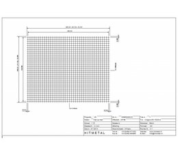 Drahtdurchmesser 4.0, Abmessungen 2000 x 1600 mm