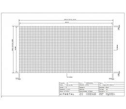 Draaddiameter 4,0, Afmeting 3000 x 1500 mm