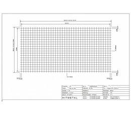 Drahtdurchmesser 5.0, Abmessungen 2000 x 1000 mm