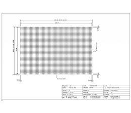 Draaddiameter 4,0, Afmeting 3000 x 2000 mm