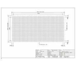Drahtdurchmesser 4.0, Abmessungen 2000 x 1000 mm
